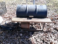 Barbeque, barrel type