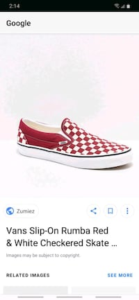 Red checkered vans Portland, 97236