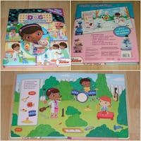 "Doc McStuffins First Look and Find (large 12"" x 10"" size) Surrey"