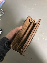 Brown coach leather wallet Abbotsford, V2S