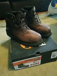 TIMBERLAND PRO PIT BOSS STEEL SAFETY TOES size 9.5 Newport News, 23602