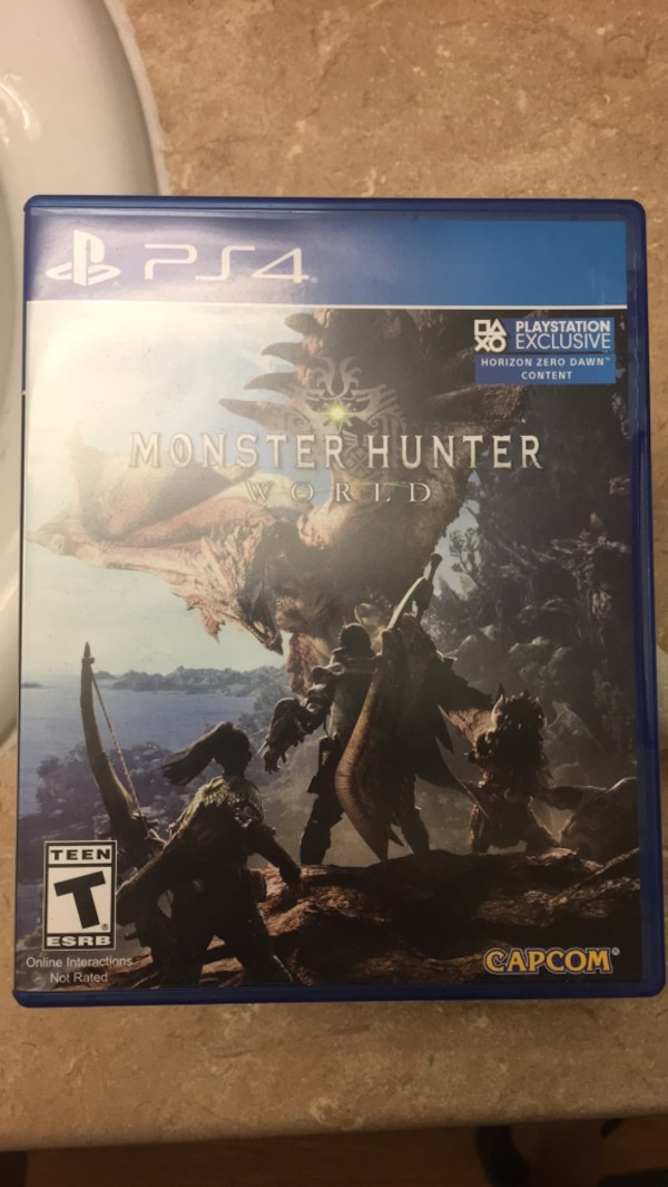 Used Ps4 the elder scrolls online game case for sale in San