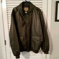 LL Bean leather coat Collegeville, 19426