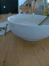 white ceramic bowl with lid Kent, 98032