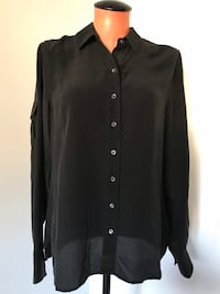 Joe Fresh Silk Top Size Small