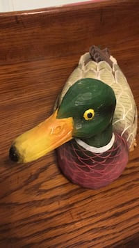 Decorative sculpted and hand painted Mallard Decoy. Chesterfield, 23832