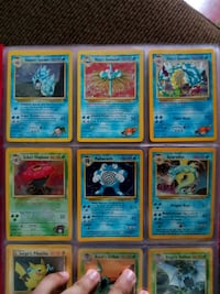 Gym heroes Pokemon cards