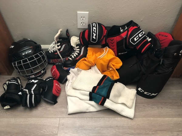 f306abacc02 Used Used child s hockey gear for sale in Campbell - letgo