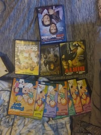 assorted movie DVD case collection Struthers