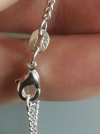 "18"" 925 silver chain stamped"