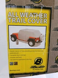 All Weather Trail Cover for Jeep Wrangler 2-DR 07 - Current, 81040-09