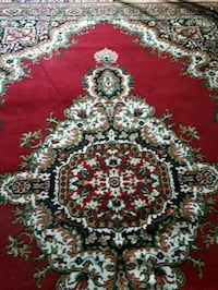 red, white, and green floral area rug Toronto, M1L 3P4