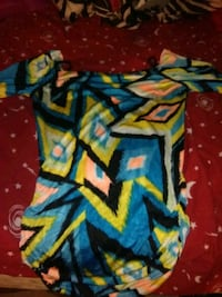 red, blue, and yellow textile Stockton, 95206