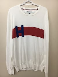 Tommy Hilfiger Red and blue sweater  Maple Ridge, V2X 3S6
