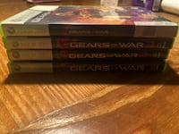 Gears of War bundled(see pic) xbox 360 games St. Charles, 60175