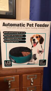 Automatic Pet Feeder Chantilly, 20151