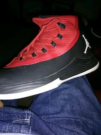 unpaired black and red Air Jordan basketball shoe High Point, 27265