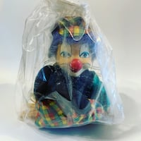 Vintage Collectible Clown Doll on a Swing - Still in Orginal Package Toronto, M9B 0A2