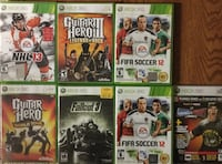 XBOX 360 Games: all 7 for $25 Surrey, V3S 8Y8