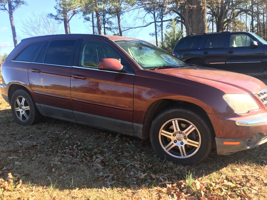 red Chrysler Pacifica SUV for sale  Locust Grove