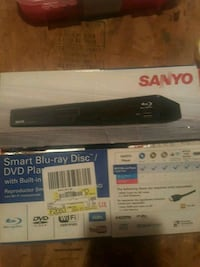 Sanyo smart blue-ray dvd Player with built in wifi Westminster, 21157
