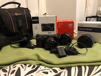 Sony Alpha a6000 Mirrorless with 16-50mm Lens & Additional items Toronto, M3K 0B6