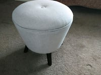 REDUCED: Grey Ottoman / Footrest /Footstool Spruce Grove, T7X 2S9