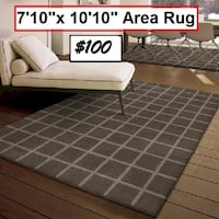 AJ- BRAND NEW- Dupont Taupe Area Rug Mississauga