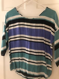 Striped Zara Top Boston, 02113