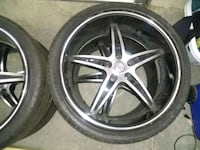 20 inch velocity rims and tires Lancaster