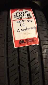 PAIR OF CONTINENTAL TIRES 205/70/16 great tread Eatontown, 07724