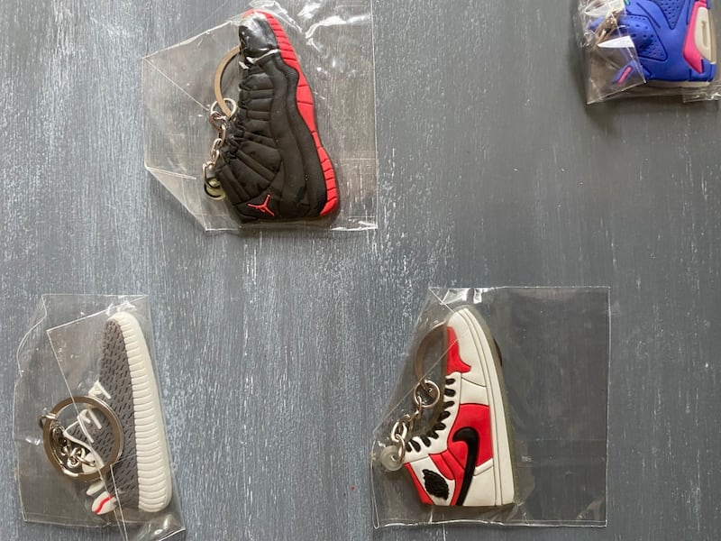 Yeezy and jordan keychains 4c60db6a-813d-4663-a7e5-66323b58ad57