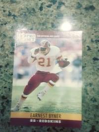 1990 Pro Set Redskins cards PURCELLVILLE
