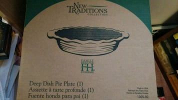 Pampered chef pie plate