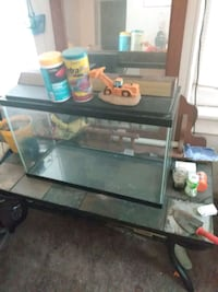 Fish tank comes with table