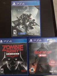 Ps4 games Westchester, 60154