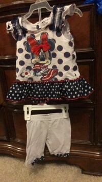 2pc set-Minnie mouse blouse and short Kitchener, N2R