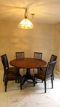wooden table with 6 chairs  Huntington Beach, 92648