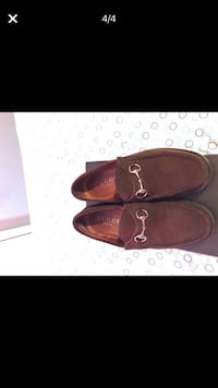 Pair of brown Suede loafers Norcross, 30071