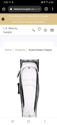 Wahl andis oster  clipper trimmer  barber tools Toronto, M1T 3N1
