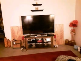 65inch Smart TV.  With Stand