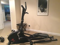 Black and gray New Balance programmable elliptical trainer, multiple settings and options. Frederick, 21701