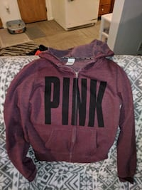Purple and black zip up hoodie by VS Des Moines, 50316