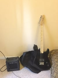 Electric Guitar with an Amp Fairfax, 22032