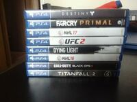 Ps4 games Kitchener, N2H 4J2