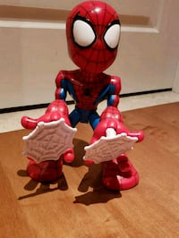 red and blue Spider-Man action figure 564 km