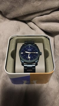 Blue Fossil watch worn once