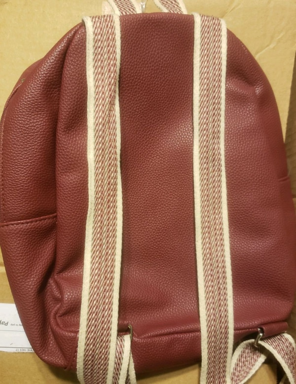 Thirty-One Boutique Backpack - Merlot   03026b49-a916-4ea8-9c21-d0616c99a50b
