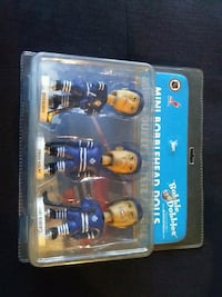 2002 TORONTO MAPLE LEAFS MINI BOBBLE HEADS