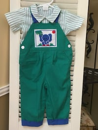 New boy outfit size 12 months, 2 pcs. Woodbridge, 22191